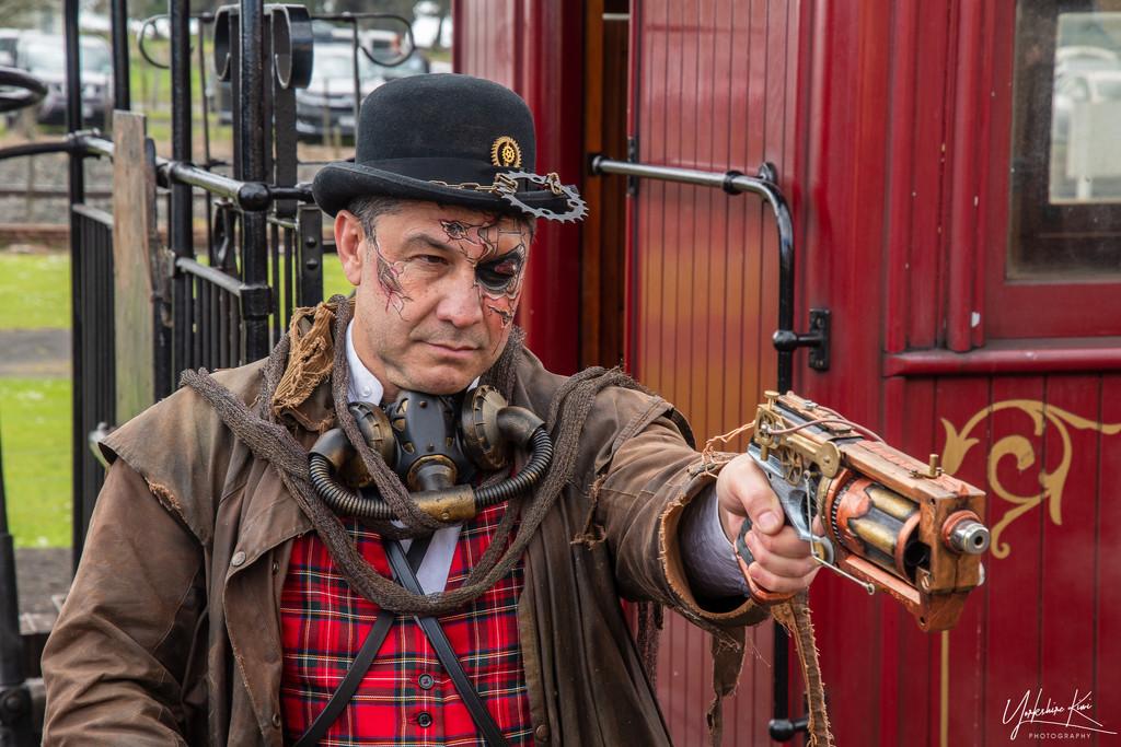 Train Heist by yorkshirekiwi