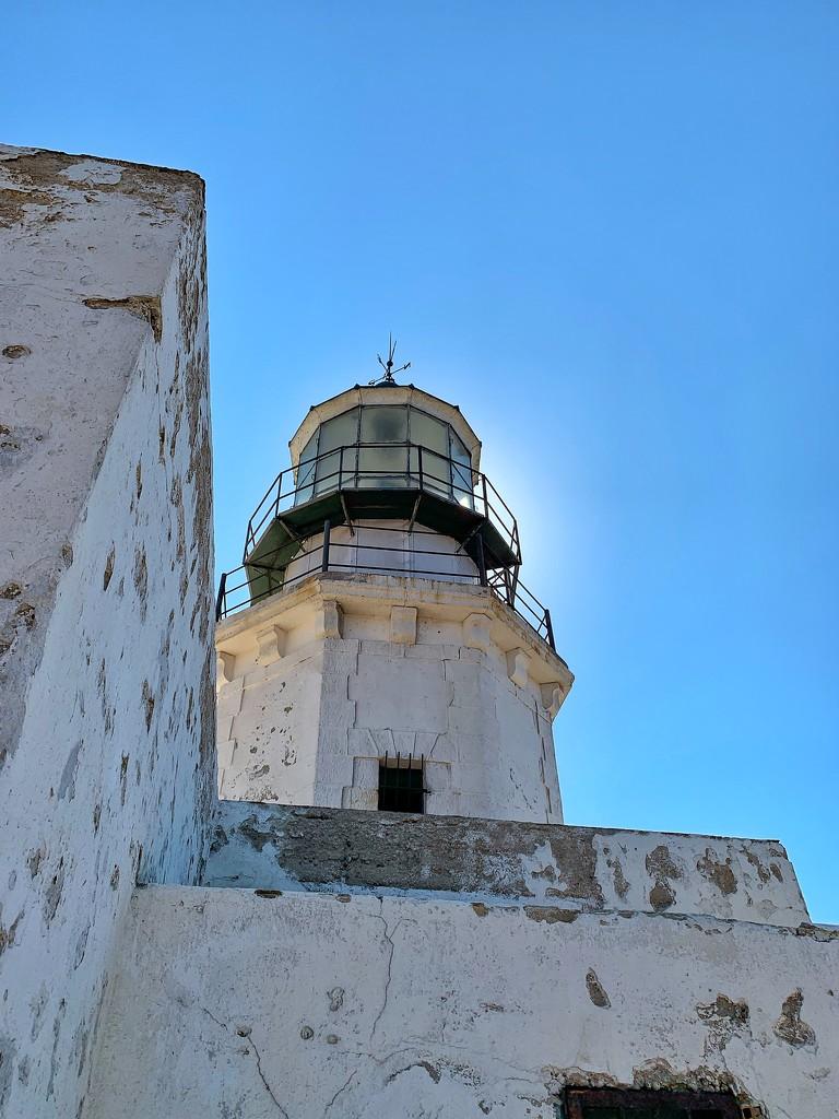 mykonos lighthouse by cocobella