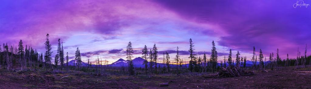 Sister Sunset Pano by jgpittenger