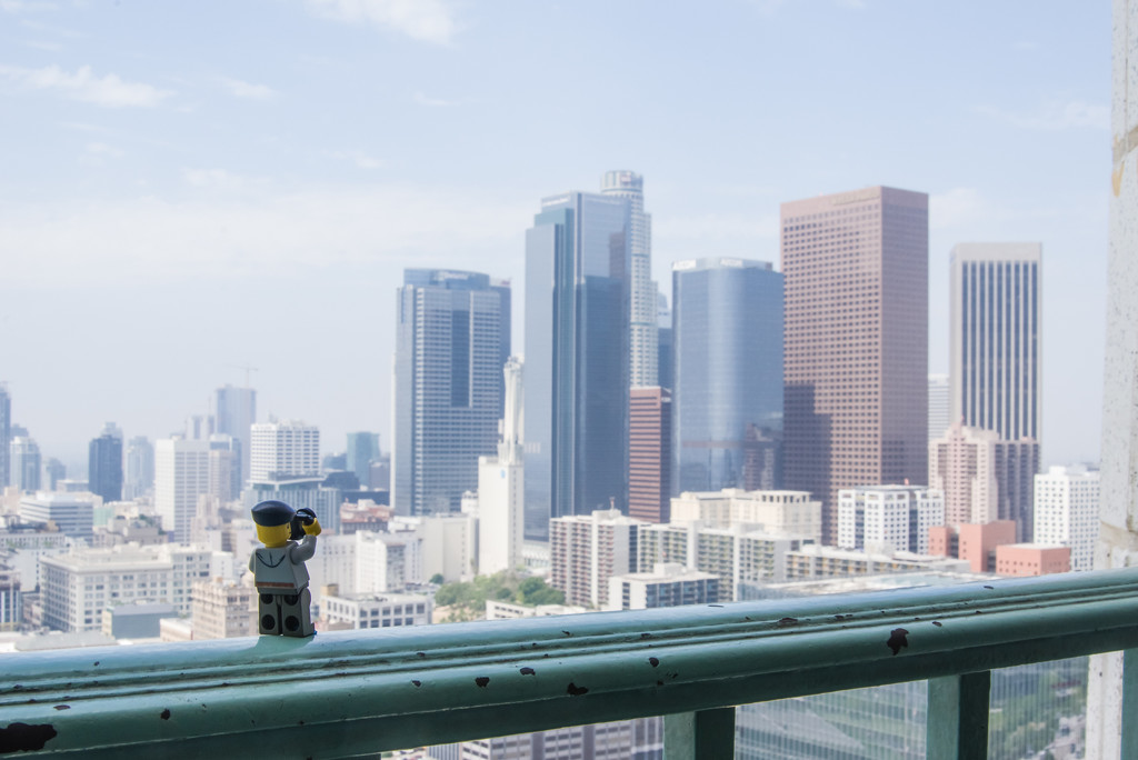 (Day 218) - Observing Downtown Los Angeles by cjphoto