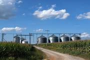 19th Sep 2019 - Grain Bins!