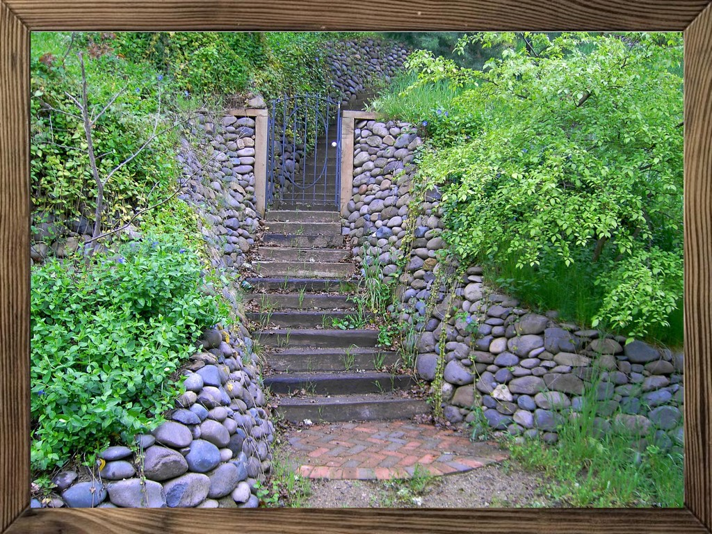 Stairs with frame by shutterbug49