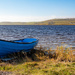 Spiggie Loch Boat by lifeat60degrees