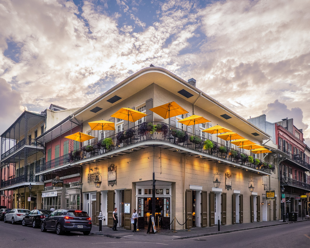 French Quarter at Sunset by rosiekerr