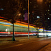 two streetcars passing in the night by summerfield
