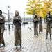 Potato Famine Memorial in Dublin by kwind