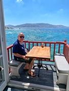 25th Sep 2019 - Private balcony over the sea.