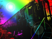 16th Sep 2019 - Psychedelic Railway Carraige