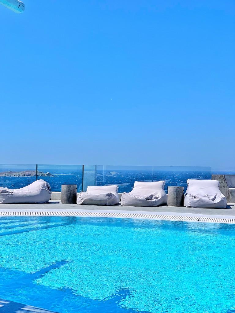 Pool and sea.  by cocobella