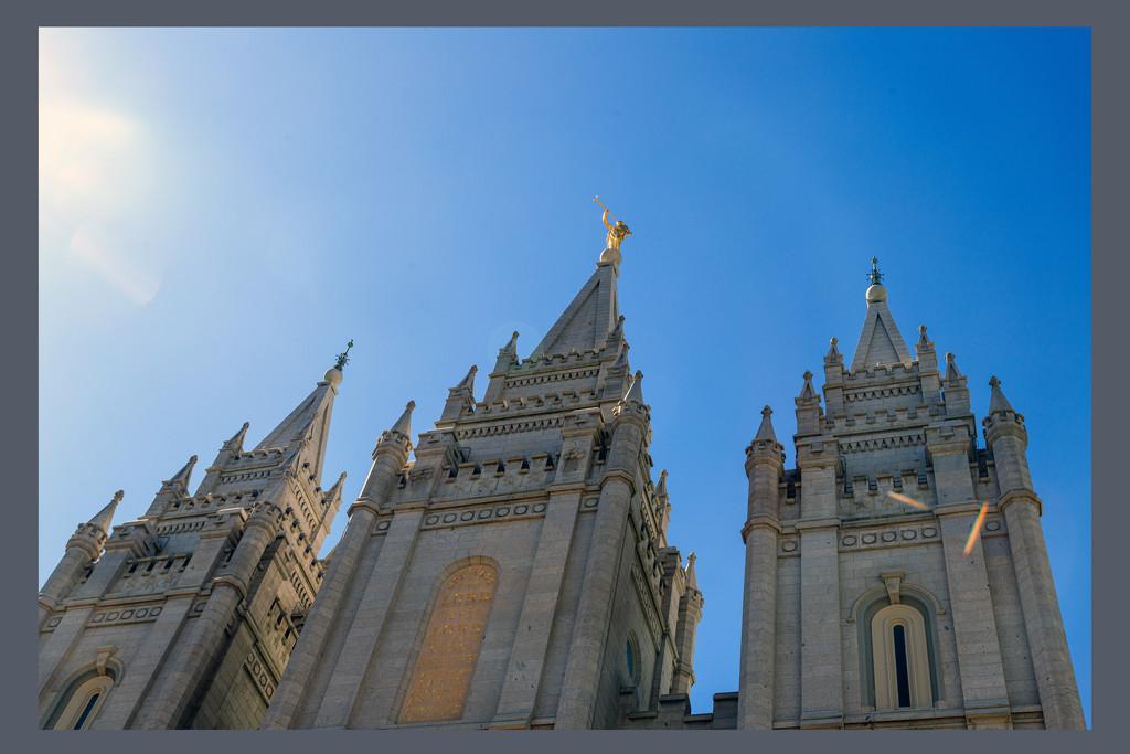 Salt Lake City Temple by hjbenson