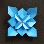 27th Sep 2019 - Blue Origami