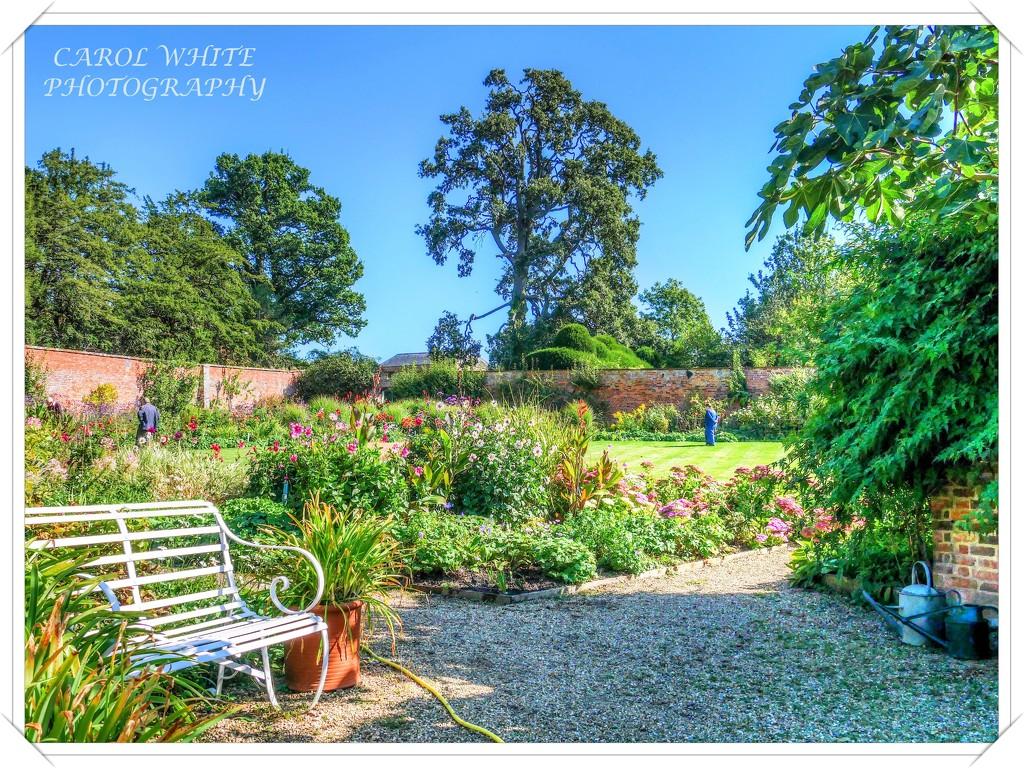 The Walled Garden,Kelmarsh Hall,Northants by carolmw