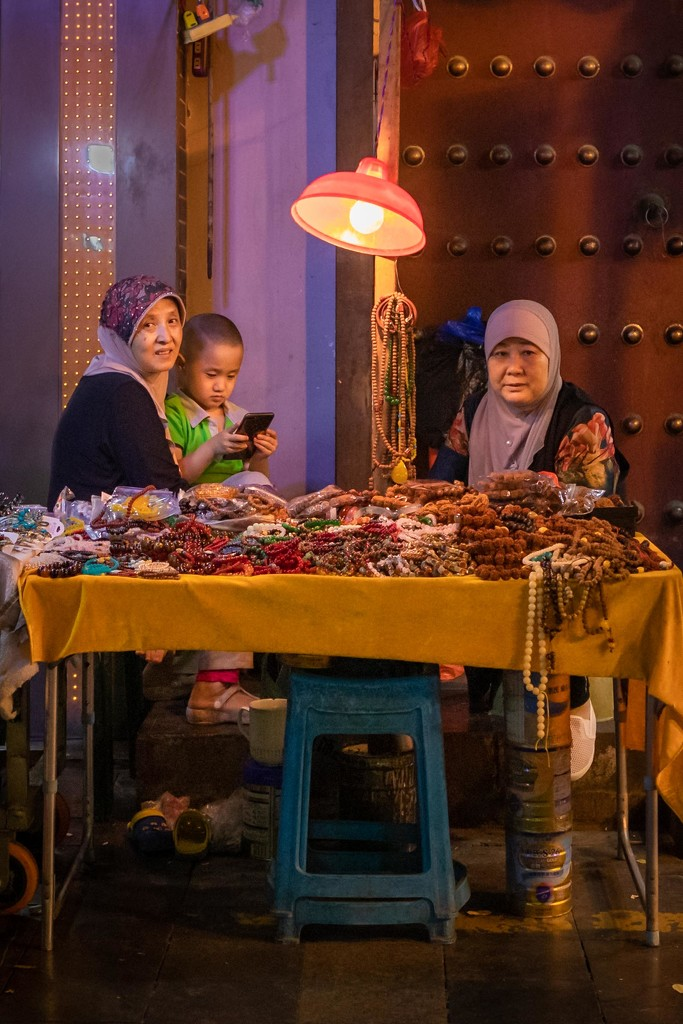 Muslim NIght Market Family by jyokota