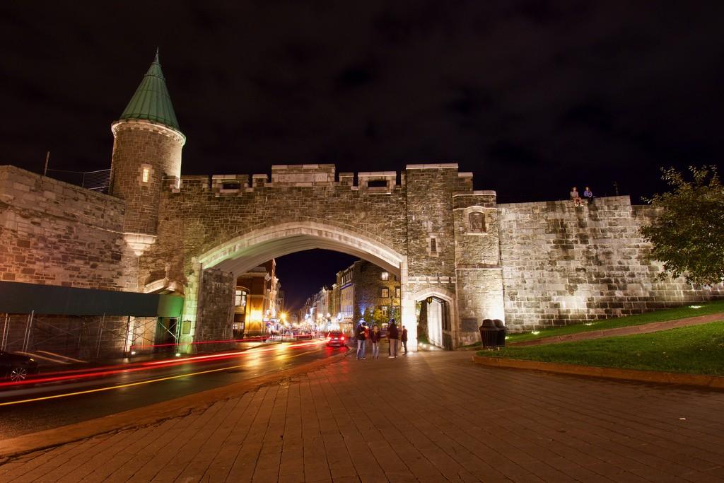 Quebec City GateDSC_0313 by merrelyn