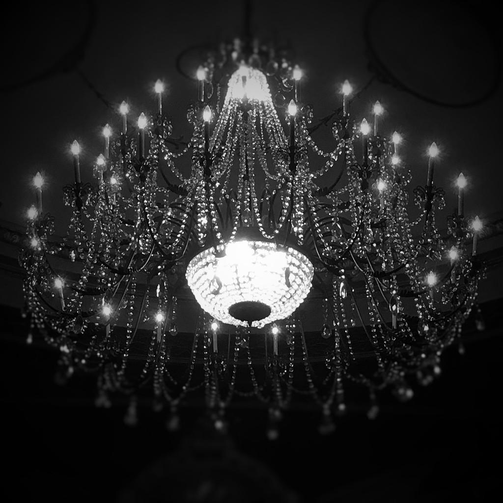 Theatre chandelier  by darlenet