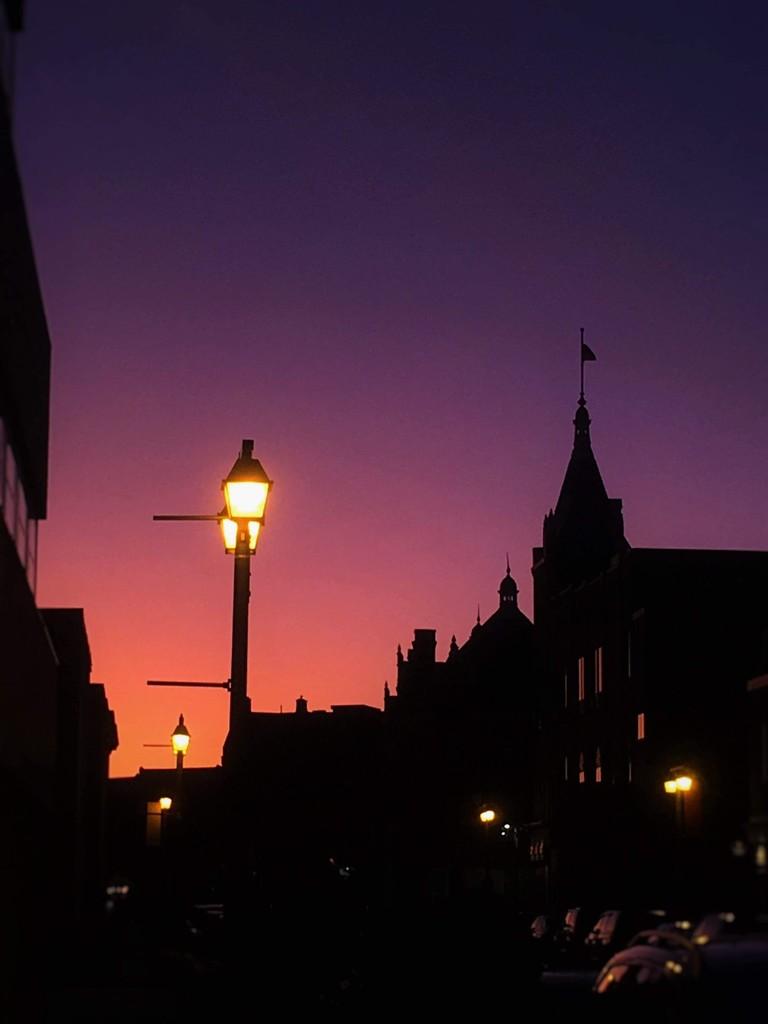 Stratford sunset by darlenet