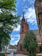 1st Oct 2019 - Basel cathedral.
