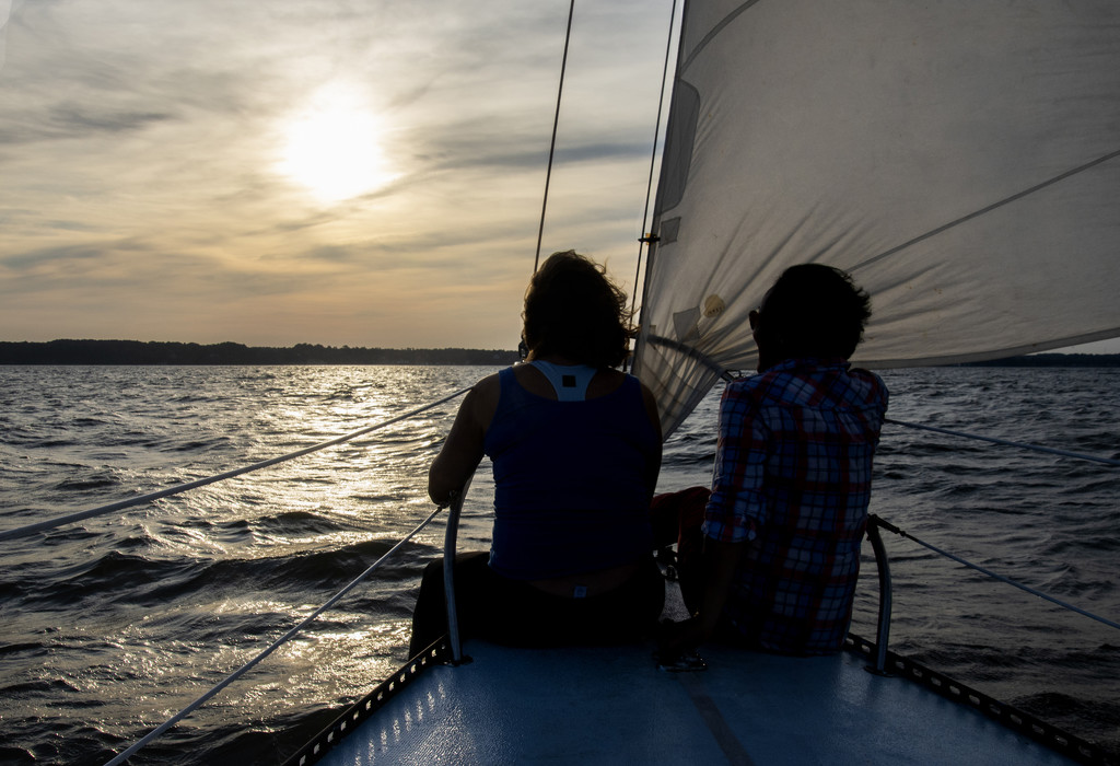 Silhouetted on the bow by ksmale