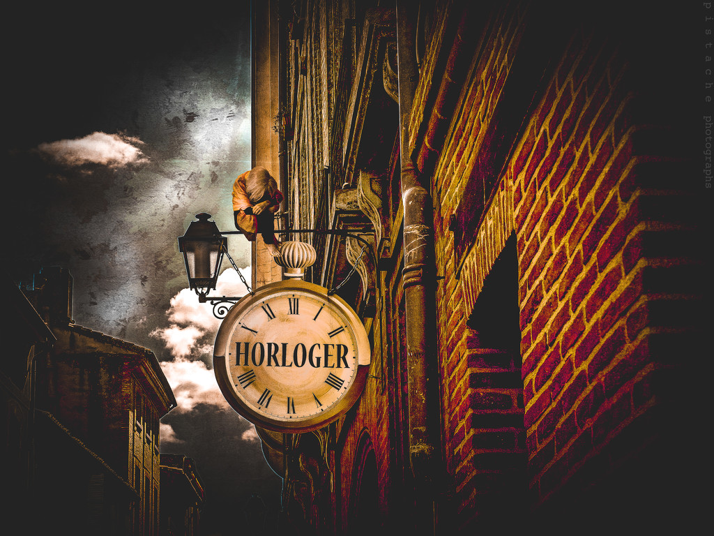 waiting for the clockmaker by pistache