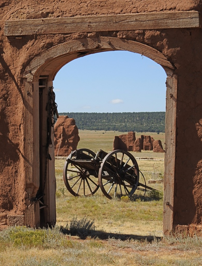 Fort Union National Monument, New Mexico, USA by janeandcharlie