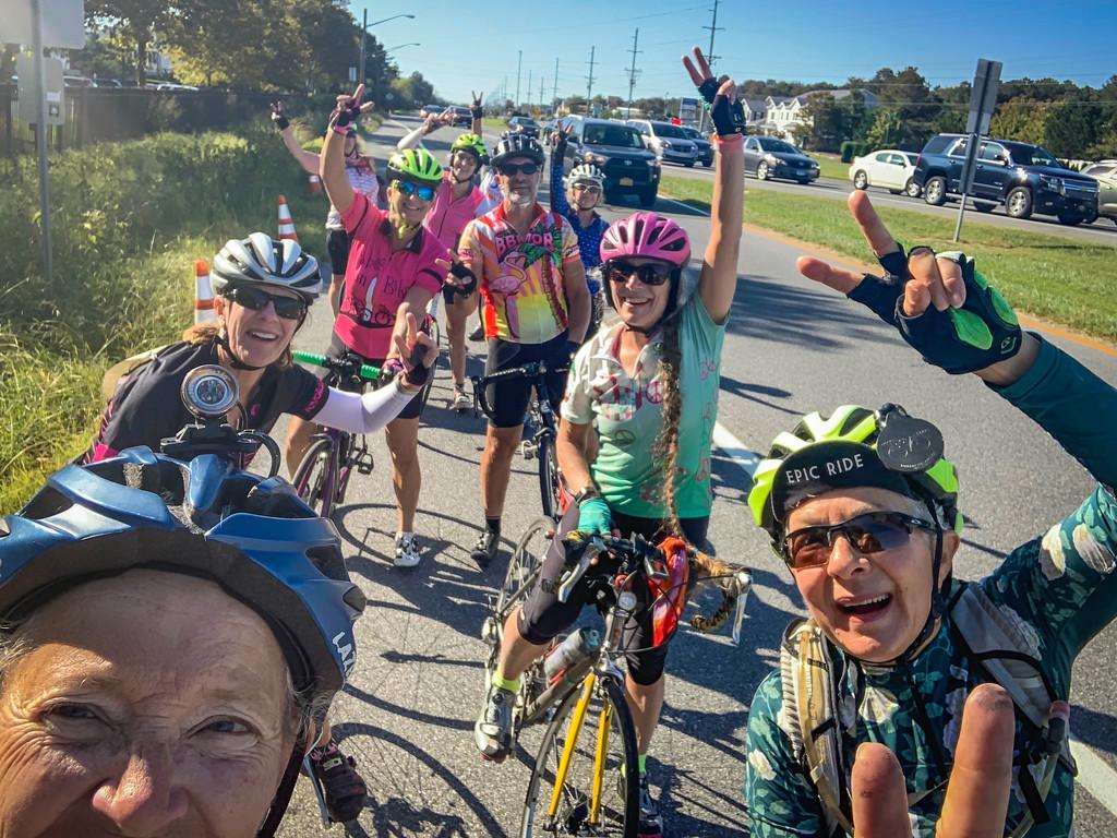 Lynn's 70th BD 70 mile Peace Ride by jbritt