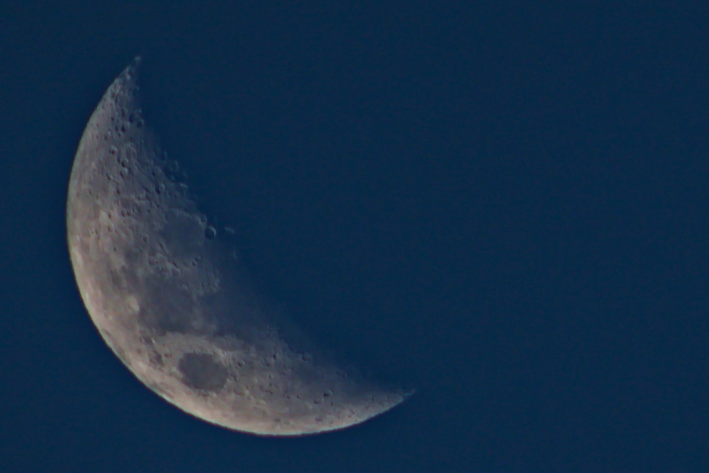 Tonights Moon ~ 6.04pm by kgolab