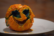 4th Oct 2019 - Carved Halloween Apple