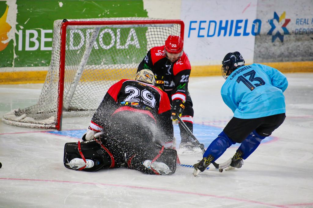 Ice hockey! by petaqui
