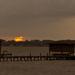 Very Dim Sunset Tonight!