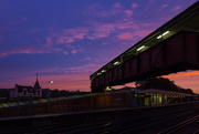7th Oct 2019 - Sunrise at the station
