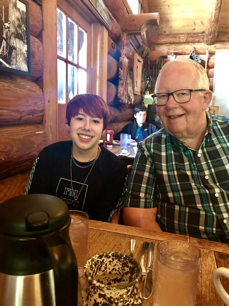 Breakfast with Grandpa! by suelbiz47