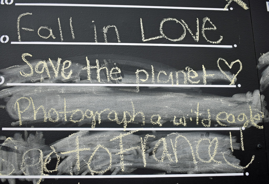 Before I die, I want to..... by homeschoolmom
