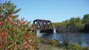 8th Oct 2019 - Railway Bridge on a Beautiful Autumn Day