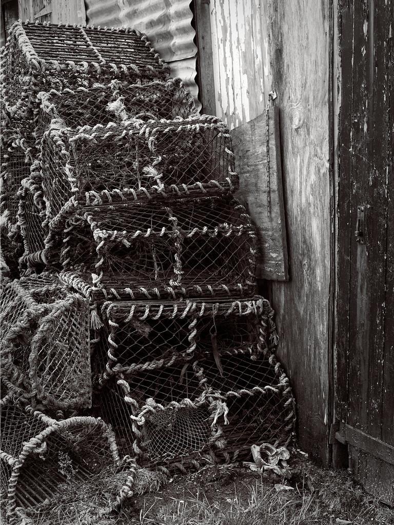 Lobster Creels by jamesleonard