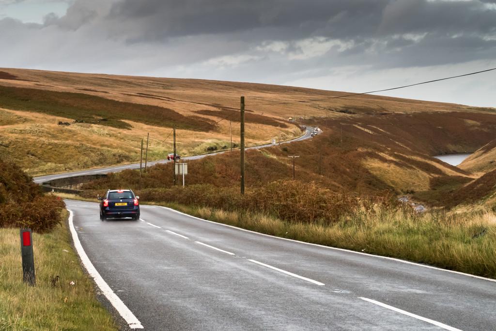 The Pennine road... by peadar