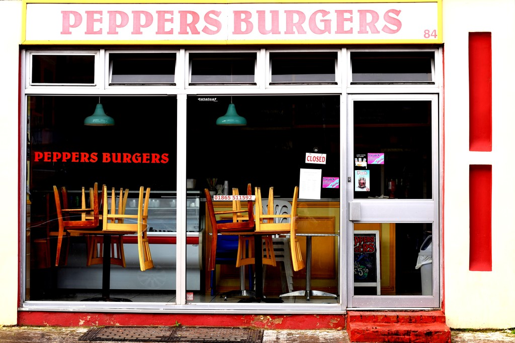 Peppers Burgers by christophercox