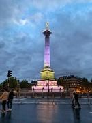 10th Oct 2019 - Place de la Bastille.