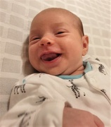 10th Oct 2019 - Hettie's First Smile Caught on Camera