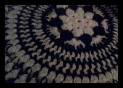 10th Oct 2019 - A crocheted table mat.