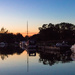 Norfolk Broads night scene
