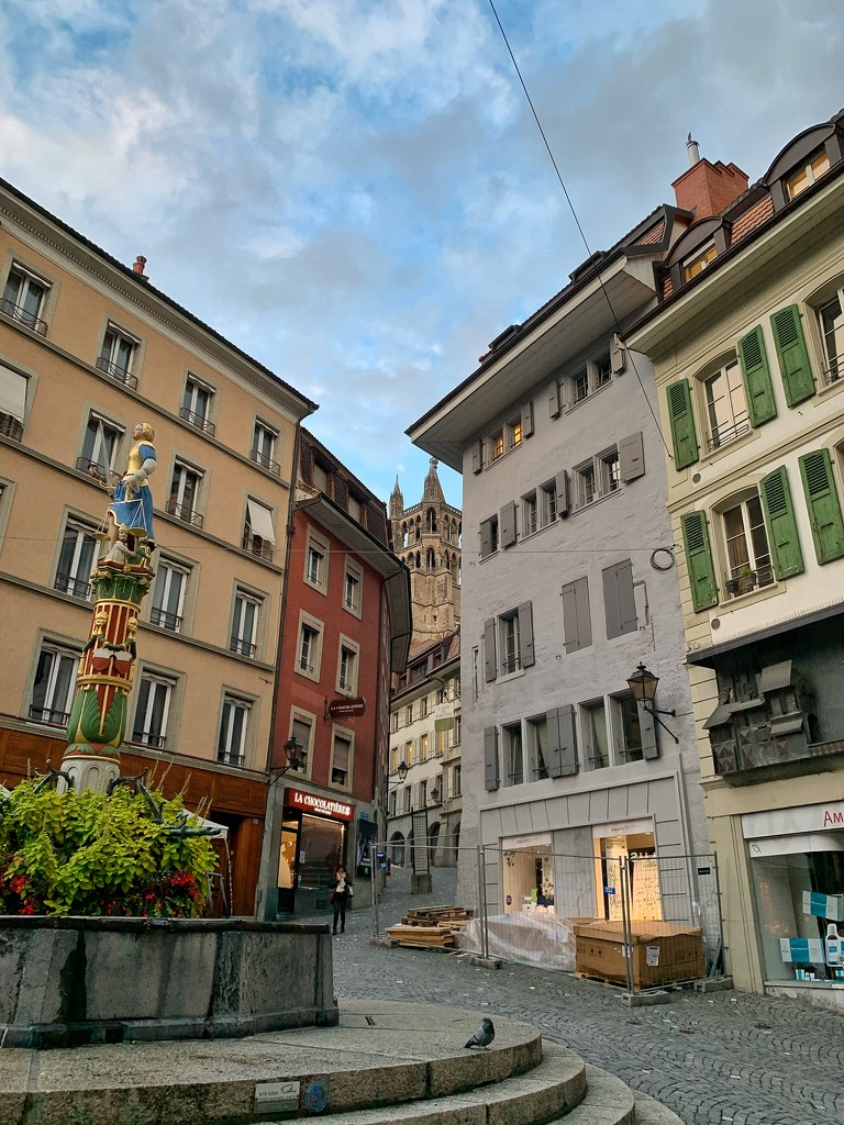 Street of Lausanne.  by cocobella