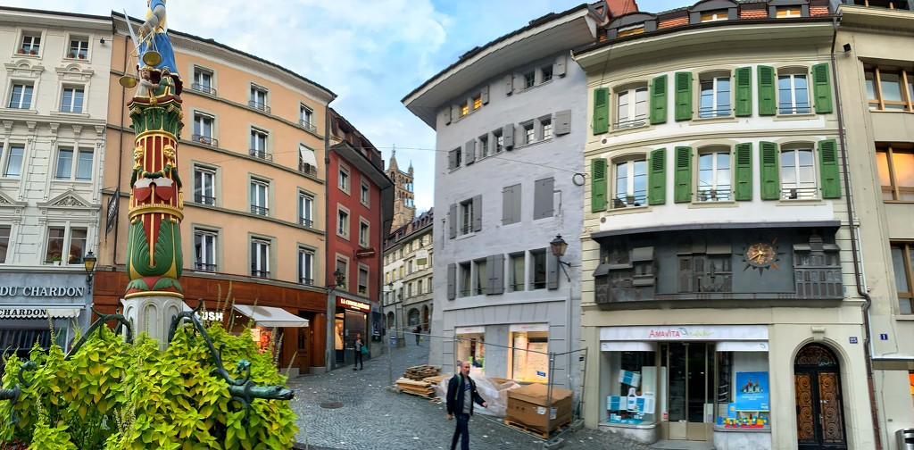Lausanne panorama.  by cocobella