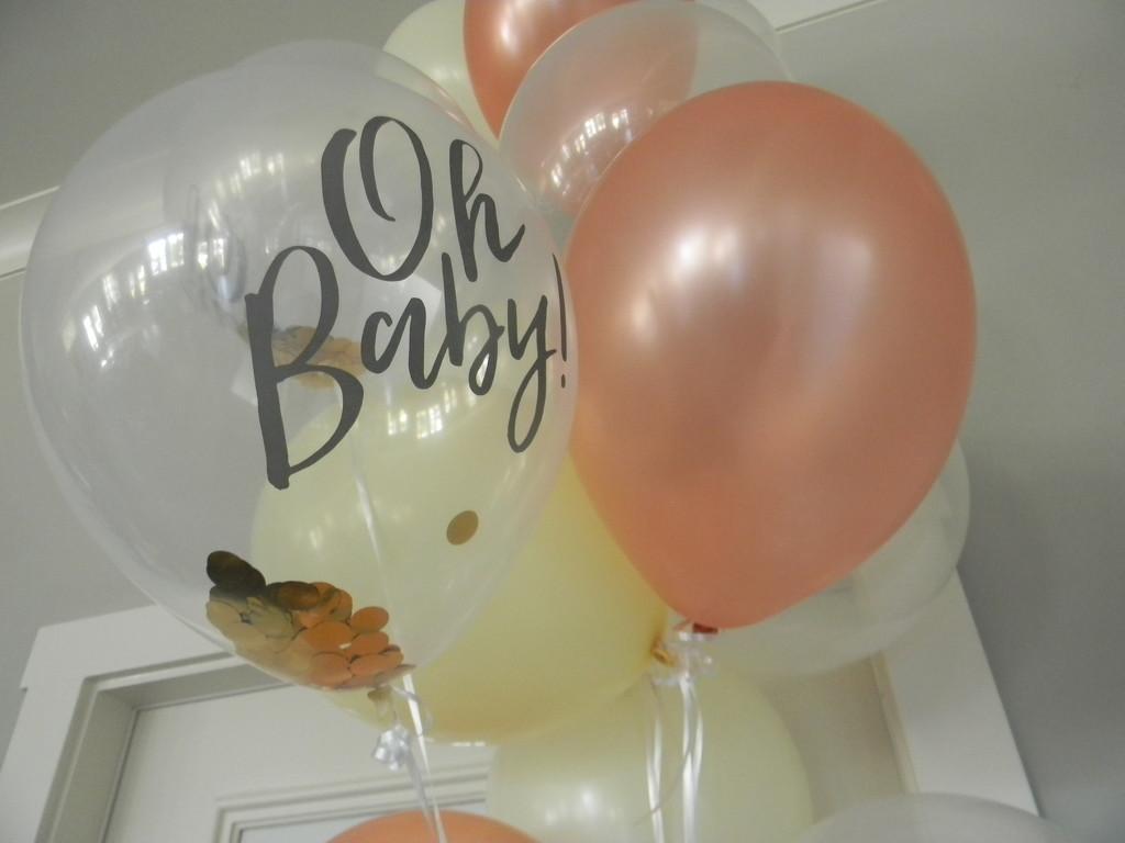 Baby Shower Balloons by sfeldphotos