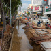 Roadworks after the Heavy Rain