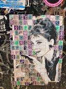 13th Oct 2019 - Audrey Hepburn on stamps.