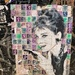 Audrey Hepburn on stamps.
