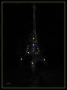 13th Oct 2019 - Eiffel in your dreams...    (Best on black)