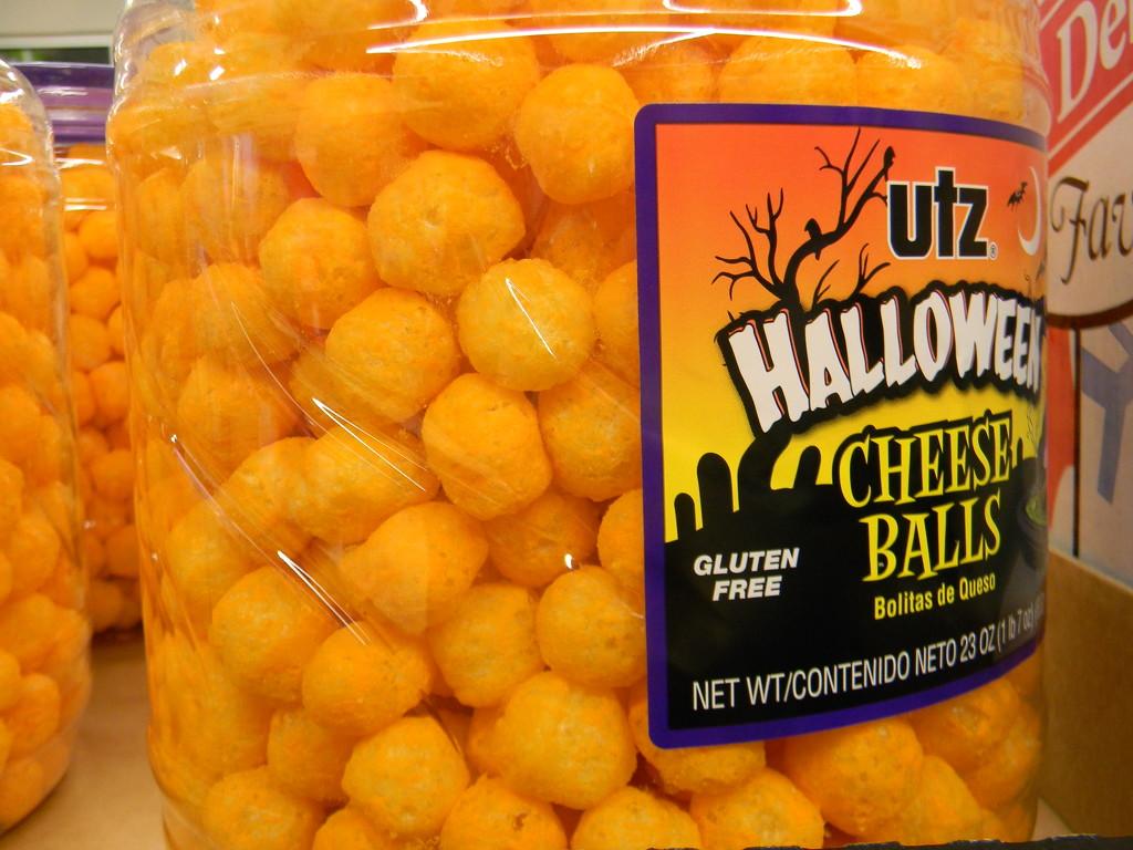 Halloween Cheese Balls by sfeldphotos