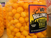 13th Oct 2019 - Halloween Cheese Balls