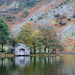 Autumnal boathouse
